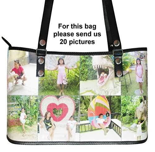 Amazon personalized tote handbag with your own choice of personalized tote handbag with your own choice of pictures or anything else free solutioingenieria Image collections