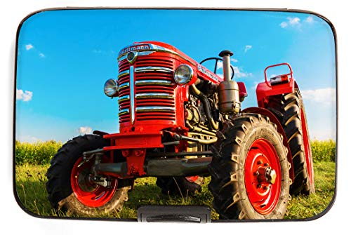 - RFID Secure Armored Wallet - Red Tractor