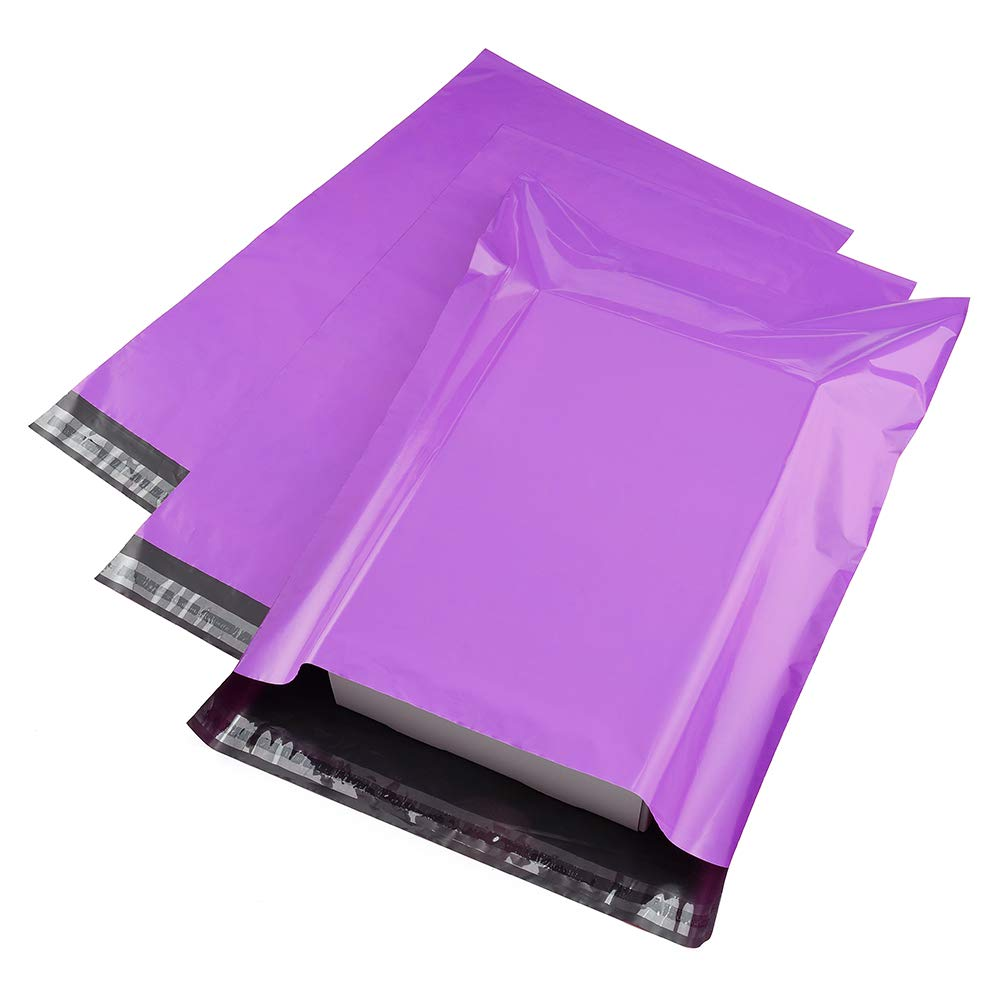 Metronic 100 Pack 10x13 Poly Mailers Shipping Bags Light Purple Shipping  Mailing Envelopes Bags 2 Mil Thick : Amazon.in: Office Products