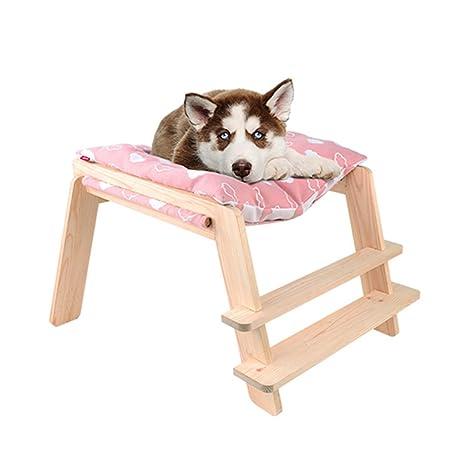 SX-ZZJ %Productos para Mascotas Cama de Perro Cama de Perro de Madera Lavable