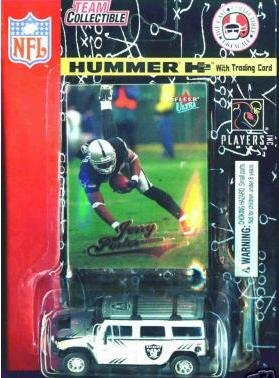 Oakland Raiders Jerry Porter 2004 Hummer H2 Diecast Colle...