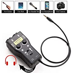 TheSaramonic SmartRig+ is a portable microphone/guitar interface for recording professional quality audio. The SmartRig+ makes your recording work easier by connecting professional microphones and guitars (or other instruments) to your smartp...