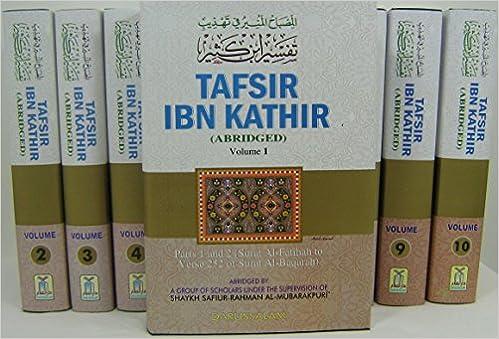 Buy Tafsir Ibn Kathir 10 Volume Full Set (Quran Tafseer