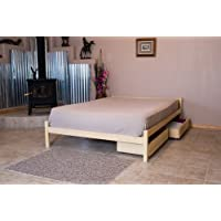 Platform Bed Nomad Furniture Pecos Queen Size Maple