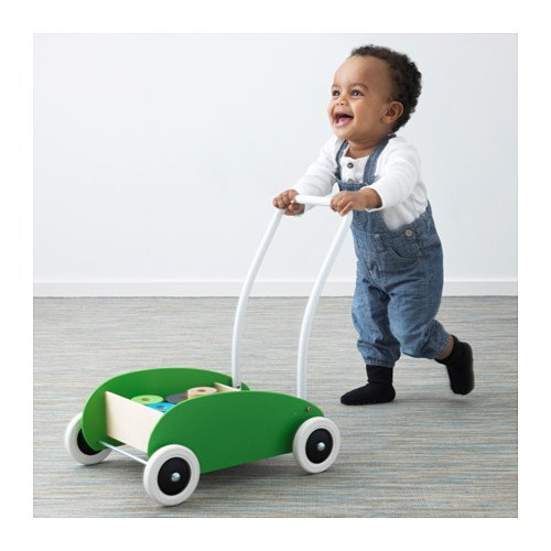 Ikea Mula 302.835.78 - Andador para bebé, diseño de abedul verde ...