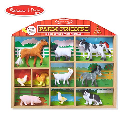 - Melissa & Doug Farm Friends Classic Play Sets