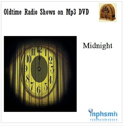 MIDNIGHT Old Time Radio (OTR) series (1982) Mp3 DVD 13 episodes