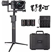 MOZA Aircross 3 Axis Handheld Gimbal Stabilizer for Up to 1.8KG Mirrorless Camera Sony A6000 A6300 A6500 RX100 A7 Series Panasonic GH5 GH4 GH3 BMPCC
