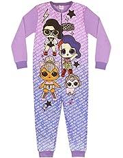 LOL Surprise Doll We Run The World Girl's Onesie Purple Kids Sleep Suit