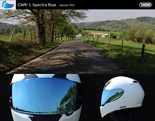 shoei visier cns 1 rainbow verspiegelt passend fur helm neotec gt air amazon de sport freizeit