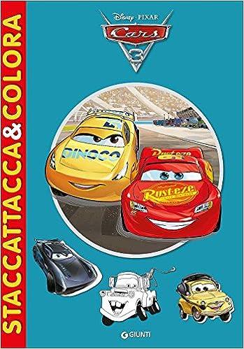 Amazon It Cars 3 Staccattacca Colora Con Adesivi Libri