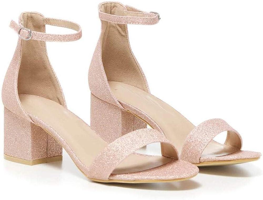 Shoe Closet Ladies Blush Pink Glitter