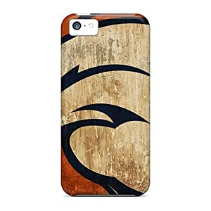 Durable Case For The Iphone 5c- Eco-friendly Retail Packaging(denver Broncos)