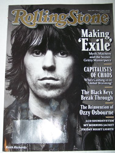 Keith Richards Cover Rolling Stone Magazine #1105 May 27, 2010 Mick Jagger Making