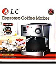 Espresso and Cappccuino Coffee machine by DLC 1.6L