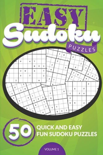 Easy Sudoku Puzzles 50 Quick product image