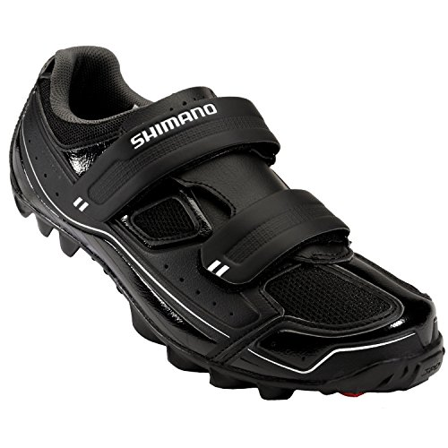 Shimano SH-M065 Cycling Shoe - Men's Black, 45.0
