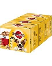 Pedigree hondenvoer natte voeding volwassenen in gelei, 48 portiezakken