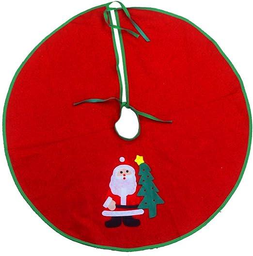 Vi.yo Tela navideña para Base de árbol con diseño navideño Falda ...