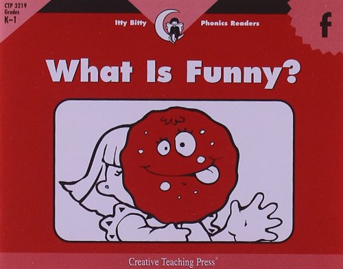 Read Online What Is Funny?, Itty Bitty Phonics Reader (Itty-bitty Phonics Readers) pdf