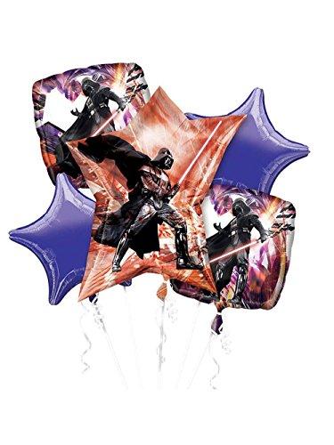 DARTH VADER STAR WARS BIRTHDAY PARTY Balloons Decorations Supplies Kit Anagram