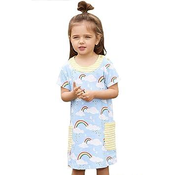 Baby Mini Skirt Girls Kids Toddler Children Cute Blue Cotton Anchor 6-18 months