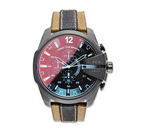 Diesel Reloj Análogo clásico para Hombre de Cuarzo con Correa en Ninguno DZ4305: Diesel: Amazon.es: Relojes