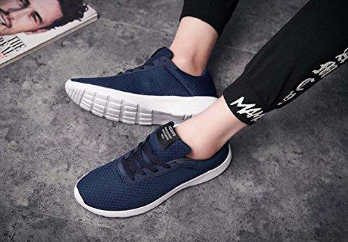 de Shoes Zapatos Flying Hombre MYI Blue de Zapatillas y Transpirables Low New Lightweight Ligeras Spring Sports Trendy Tela de Running Zapatillas 6qACHxqwdn
