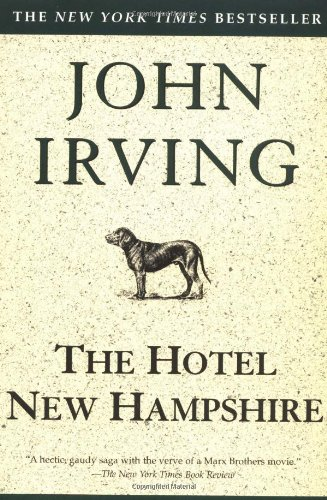 Book cover for The Hotel New Hampshire