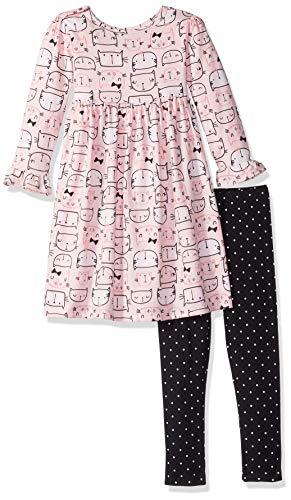 Gerber-Girls-Toddler-Dress-and-Legging-Set