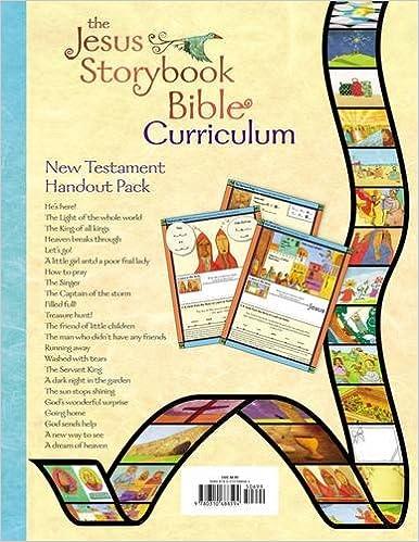 The Jesus Storybook Bible Curriculum Kit Handouts, New