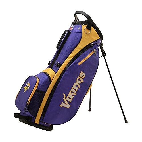 Glove Vikings Minnesota (Wilson 2018 NFL Carry Golf Bag, Minnesota Vikings)
