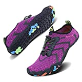 WXDZ Men and Women Barefoot Skin Aqua Shoes Water Shoes for Beach Pool