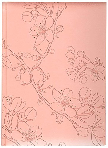 Pierre Belvedere Blossom Large Hardcover Notebook, Shell Pink with Foil Accents (7708230)