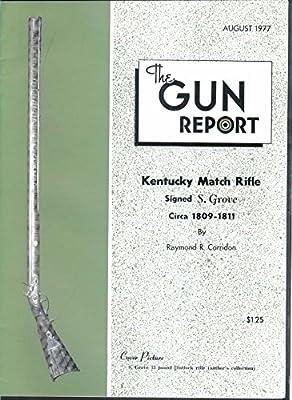 GUN REPORT S Grove Kentucky Match Rifle Shotgun Shell Loading Blocks 8 1977