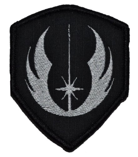 Jedi Order Galactic Republic Jedi Knights 3x2.5 Shield Biker/Cosplay Iron On or Sew On Patch - -