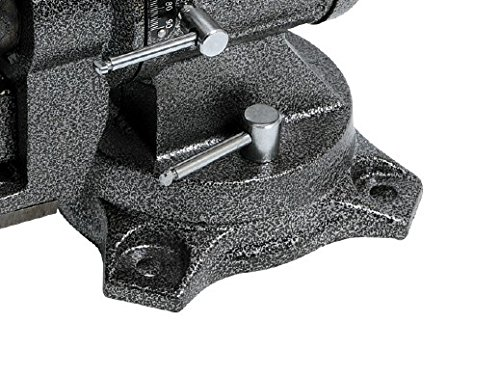 Werkbank YATO 4 Zoll Schraubstock 360/° drehbar Amboss mit Rohrhalter und 3 Spannvorrichtungen