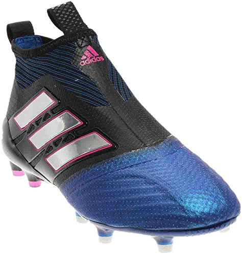 adidas BB4312 Men's ACE 17+ PURECONTROL FG Soccer Cleats (Sz. 11) Black, Blue