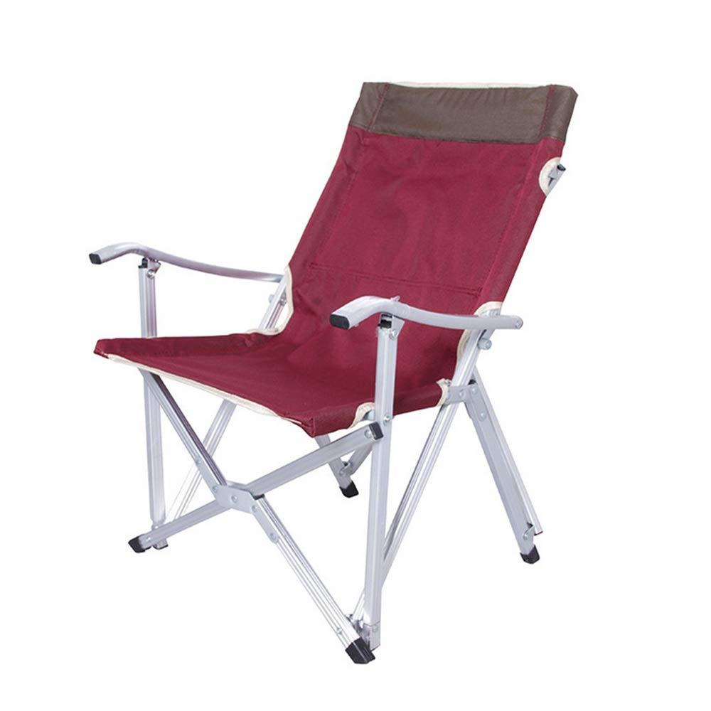 Yamyannie kompakter tragbarer Camping-Stuhl EIN Faltbarer Oxford-Stoff-kampierender Aluminiumstuhl für Fischerei im Freien oder selbstfahrende Reise. für Camping Angeln Picknick Terrasse Sport Events