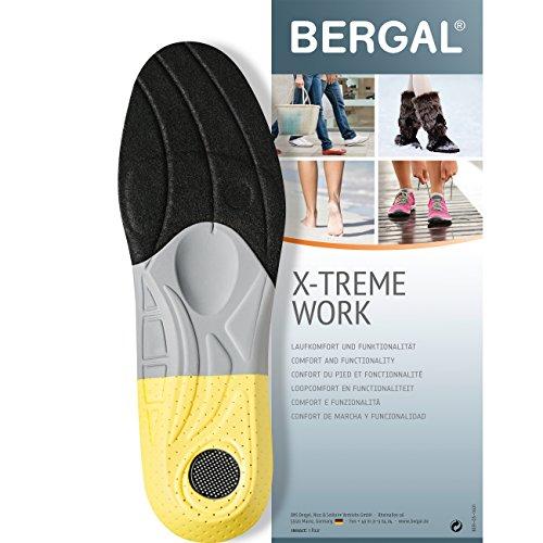 Bergal X-TREME Work - Einlegesohlen - anatomisch geformtes Fussbett Gr. 42