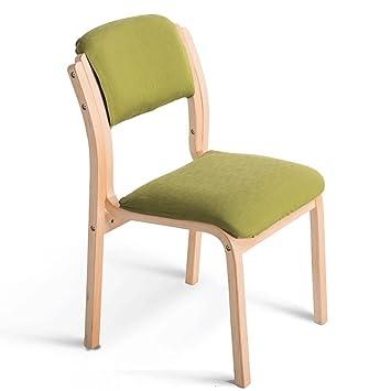 Fauteuils Chaise En Bois Solide Dtachable Facile Nettoyer Et Chaises Couleur J