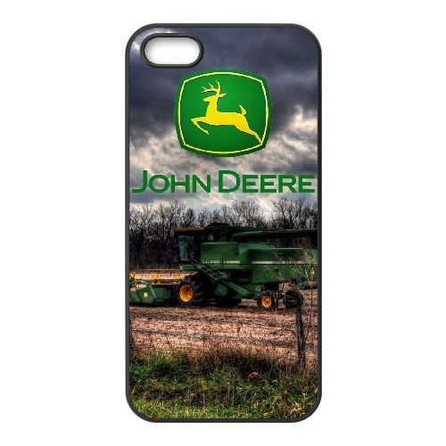 iPhone 5, 5S Phone Case Black John Deere QY7995453