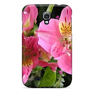 New Arrival StLYAoN6296DcvTs Premium Galaxy S4 Case(two Flowers)