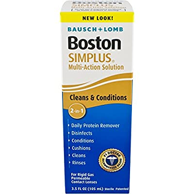 Boston SIMPLUS Multi-Action Solution, 3.5 Fluid Ounce by Boston SIMPLUS