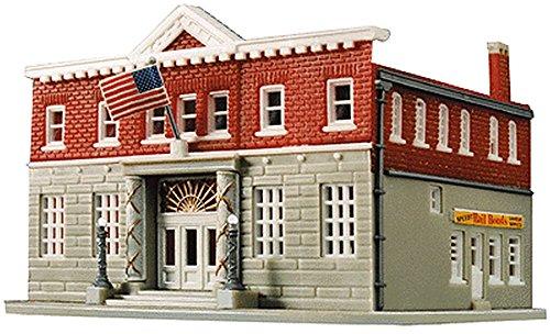 Life-Like Trains  N Scale Building Kit - 5th Precinct Police ()
