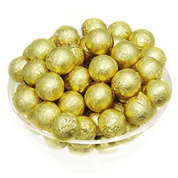 Amazon.com: Foil Confectionery (Gold) Wrapper - Candy Bar Wrappers ...