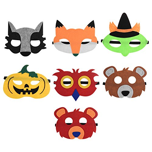 Animal Face Masks For Kids - 9