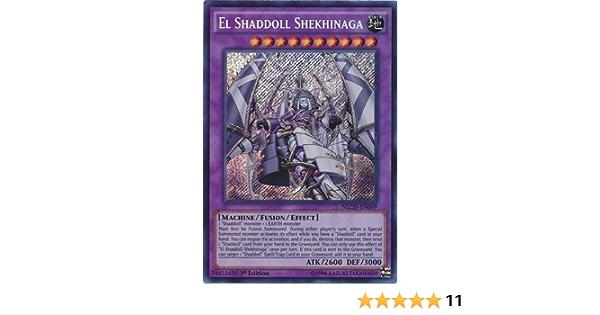 Yugioh El Shaddoll Shekhinaga NECH-EN049 1st Edition Ultimate Rare