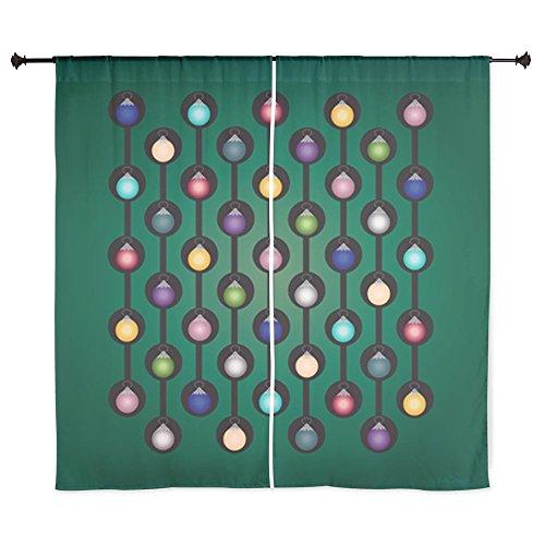 """60"""" Curtain Curtains Green Chain Ornament"""