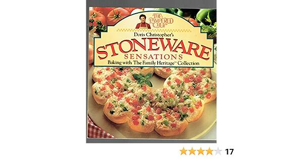 The Pampered Chef Stoneware Sensations Christopher Doris Amazon Ca Home Kitchen